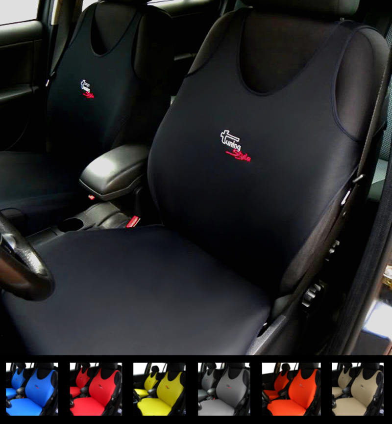 VAUXHALL ASTRA HATCHBACK 09-ON BLACK REAR WATERPROOF SEAT COVERS