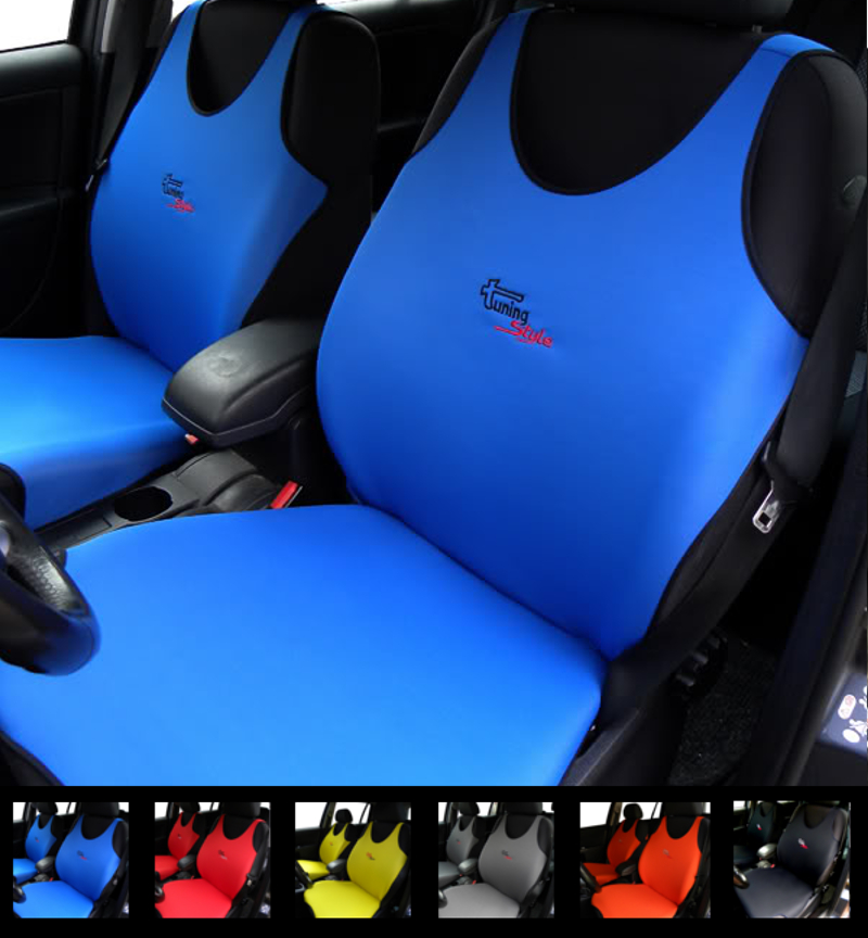 Subaru Forester Seat Covers >> Details About 2 Blue Car Seat Covers For Subaru Forester Impreza Legacy Outback Wrx
