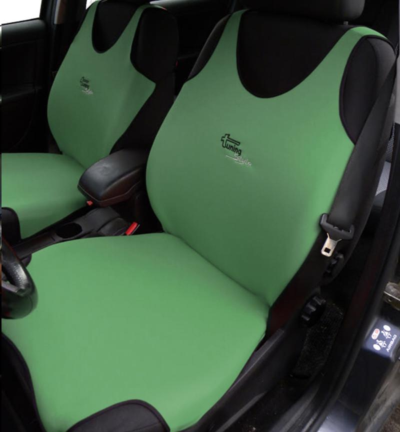 IZUZU TROOPER EXTRA HEAVY DUTY CAR SEAT COVERS PROTECTORS X2 100/% WATERPROOF
