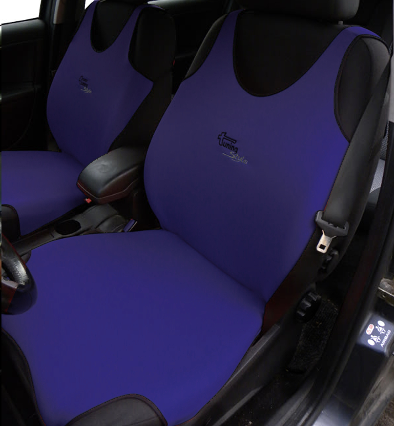 Subaru Forester Seat Covers >> Details About 2 Navy Car Seat Covers For Subaru Forester Impreza Legacy Outback Wrx